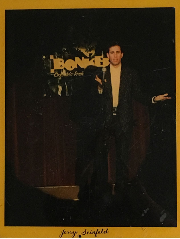 Jerry Seinfeld at Bonkerz