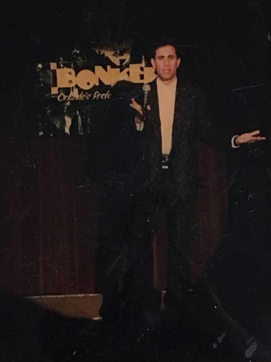 Jerry Seinfeld at Bonkerz
