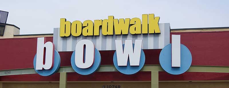 Bonkerz Comedy Club - Orlando inside Boardwalk Bowl Entertainment Center