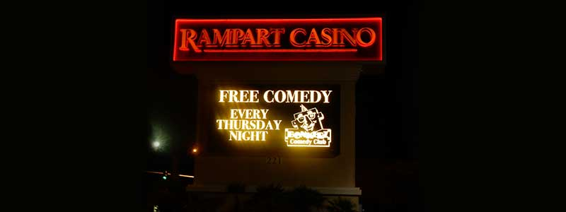 Bonkerz Comedy Club - Las Vegas inside Rampart Casino