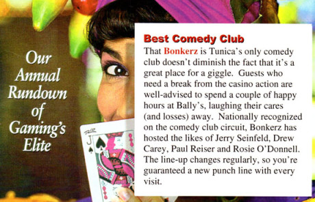 1998 Casino Player - Best Comedy Club