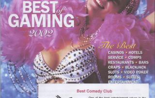 2002 Casino Player - Best Comedy Club