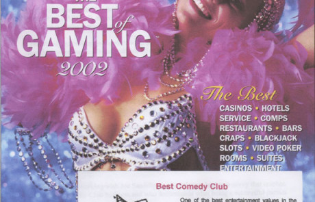 2002 Casino Player - Best Comedy Club