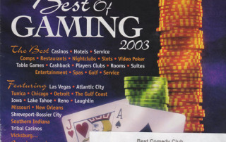 2003 Casino Player - Best Comedy Club