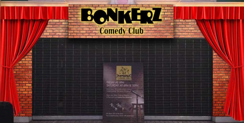 Bonkerz Comedy Club Venues
