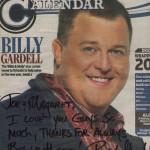 Billy Gardell Calendar Cover