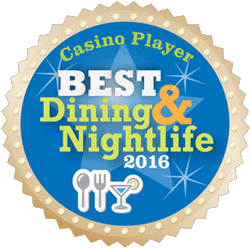 Bonkerz Comedy was awarded the Casino Player Best Dining and Nightlife Award