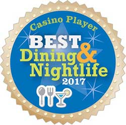 Bonkerz Comedy was awarded the 2017 Casino Player Best Dining and Nightlife Award